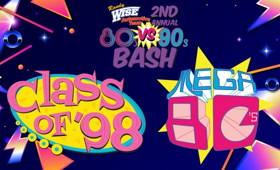More Info for Randy Wise 2nd Annual 80's vs 90's Bash