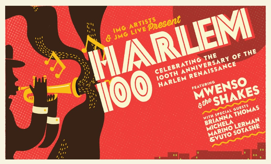 More Info for Harlem 100 Featuring Mwenso & the Shakes