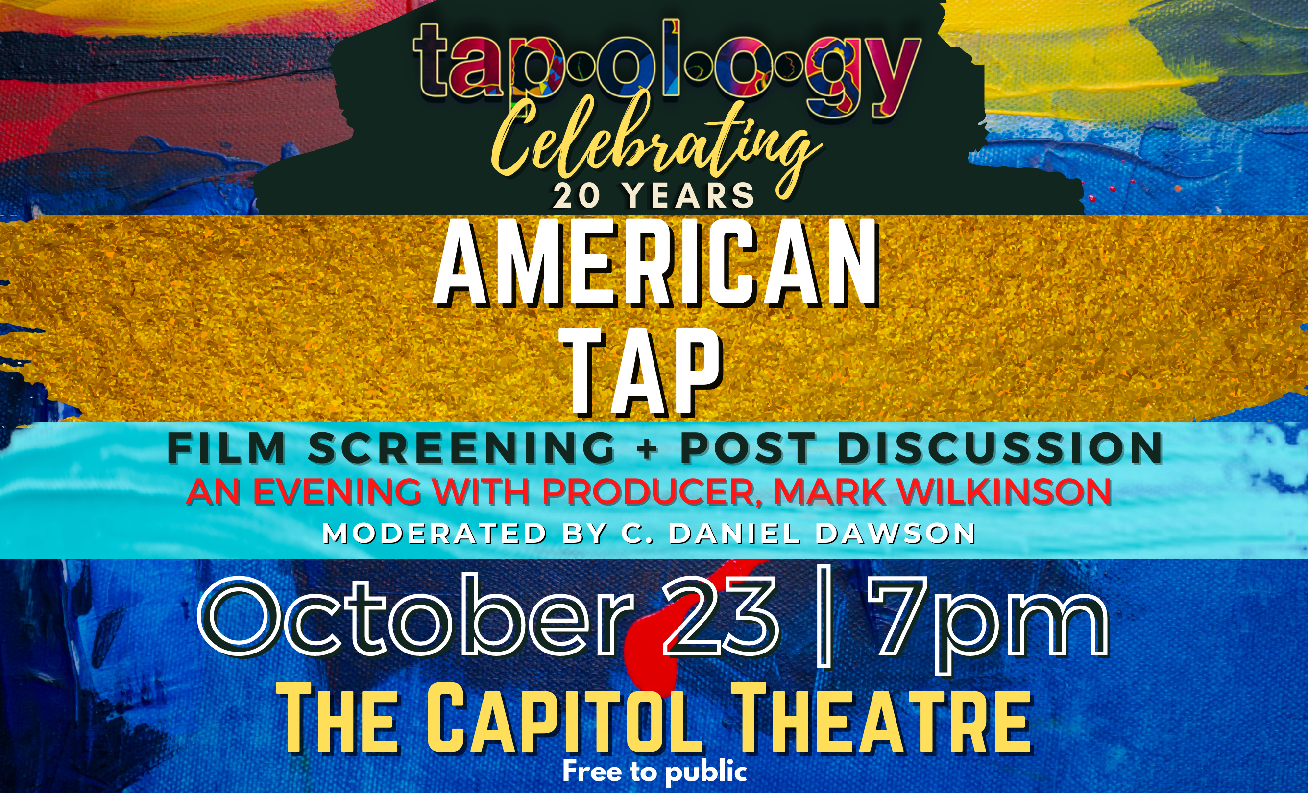 Tapology Celebrating 20 Years, American Tap Film Screening & Discussion